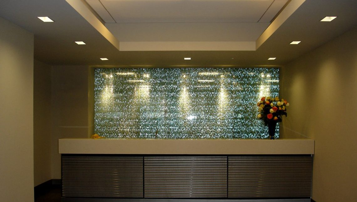 Standard Chartered Bank Feature Wall 1