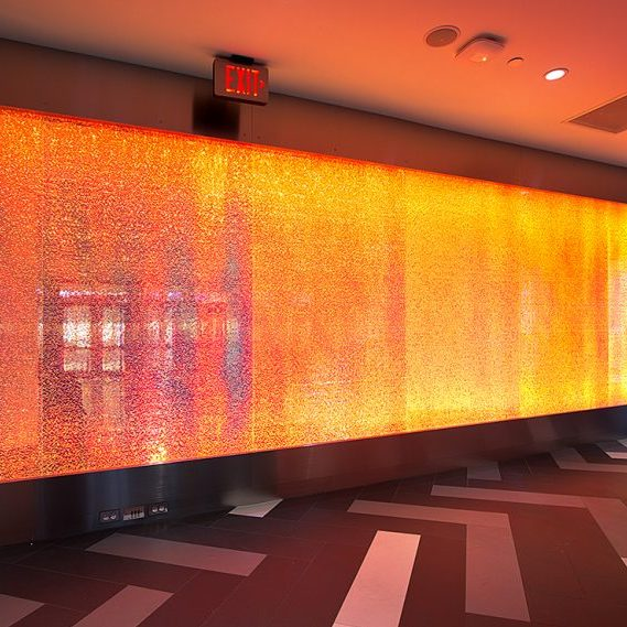 One Woodward: Jali® Elevator Feature Wall