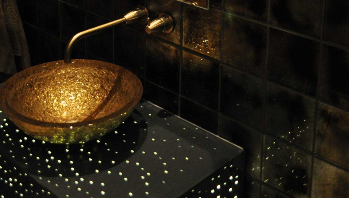 Private Residence: Illuminated Vanity 1