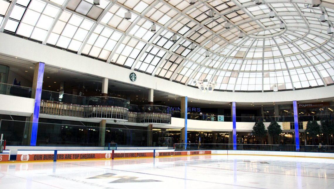 West Edmonton Mall: Ice Palace Columns 0