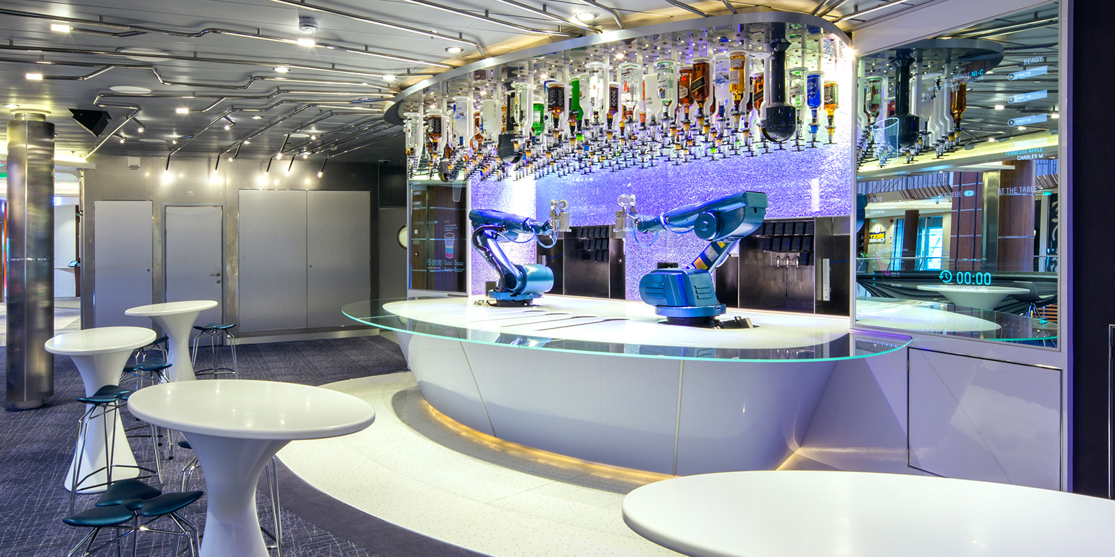 Royal Caribbean Bionic Bars – Jali Cascata (Anthem, Freedom, Ovation, Quantum of the Seas) 2