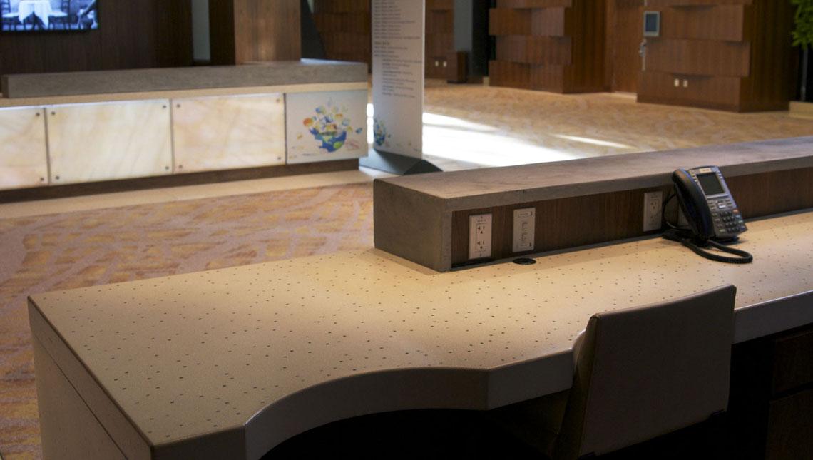 Aria Convention Center: Registration Desks 3