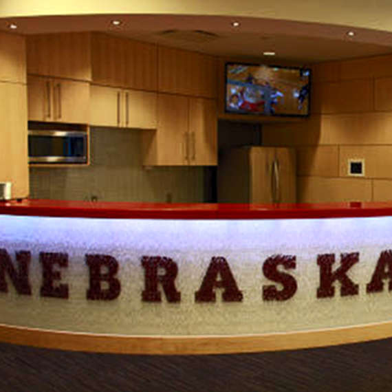 University of Nebraska, Devaney Center: Reception Face