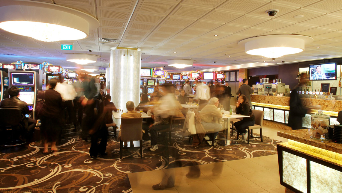 Sky City Casino, Diamond Lounge, New Zealand 1