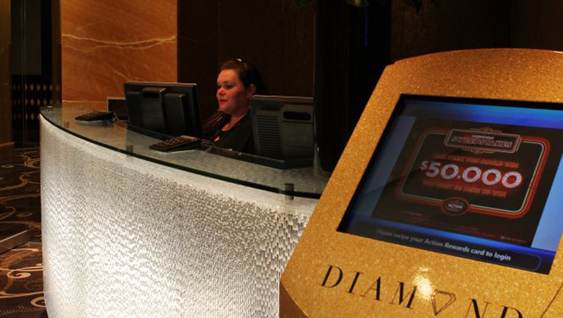 Sky City Casino, New Zealand: Reception Desk 2