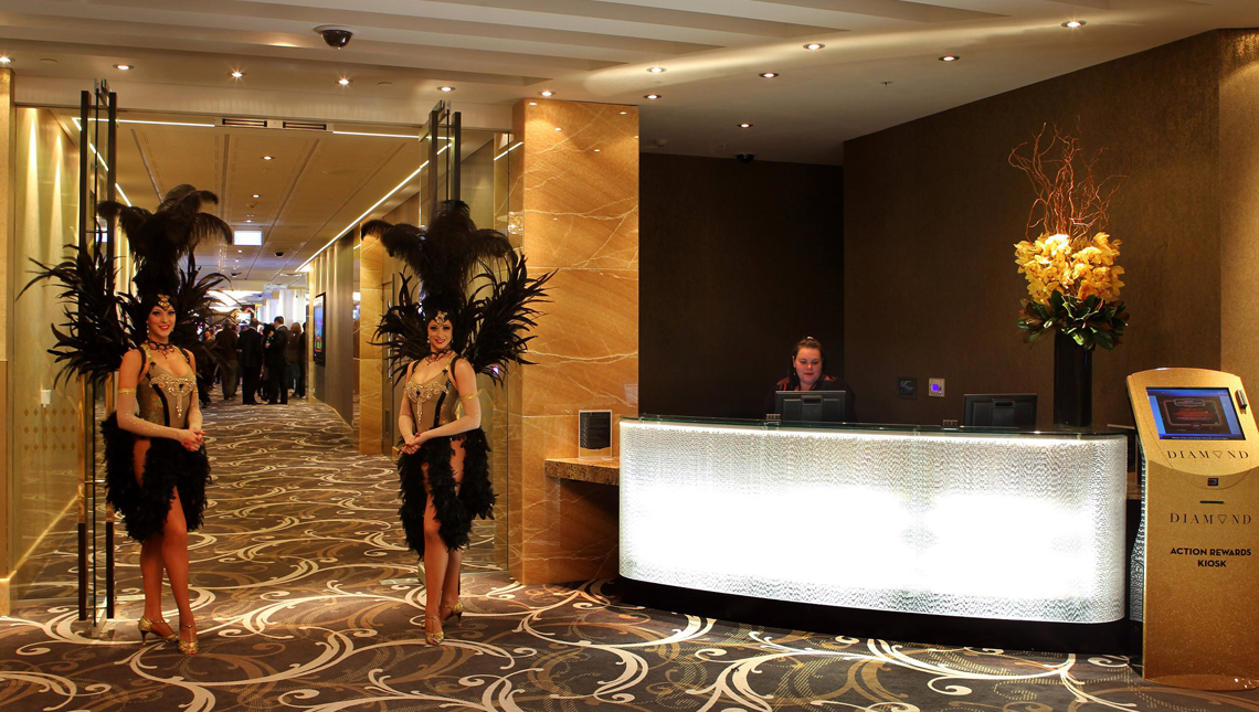 Sky City Casino, New Zealand: Reception Desk 0