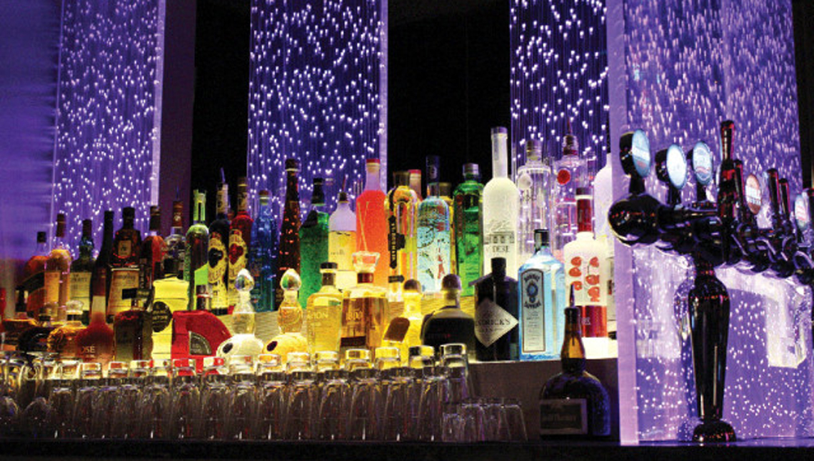 Santa Ana Casino: Back Bar 1