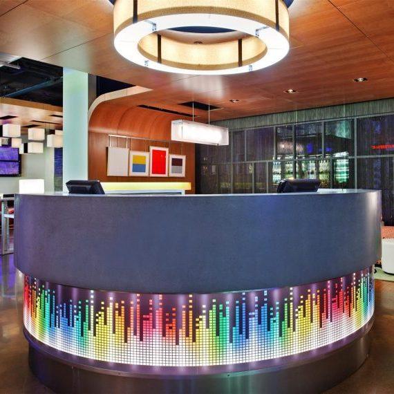 Aloft Hotels, Front Desk