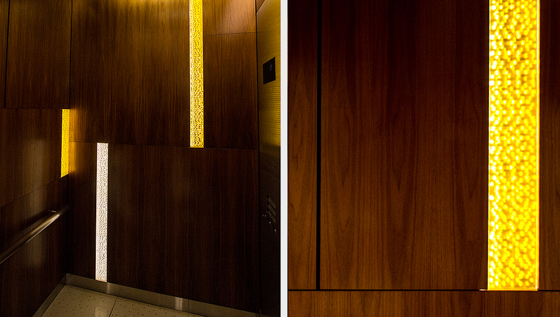 Aria Hotel and Convention Center: Elevator Cabs 2