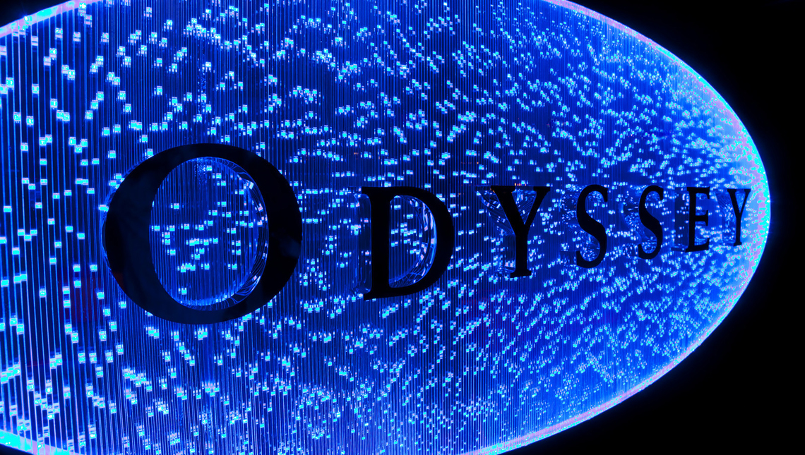 Odyssey Cruise Ship: Sign 1