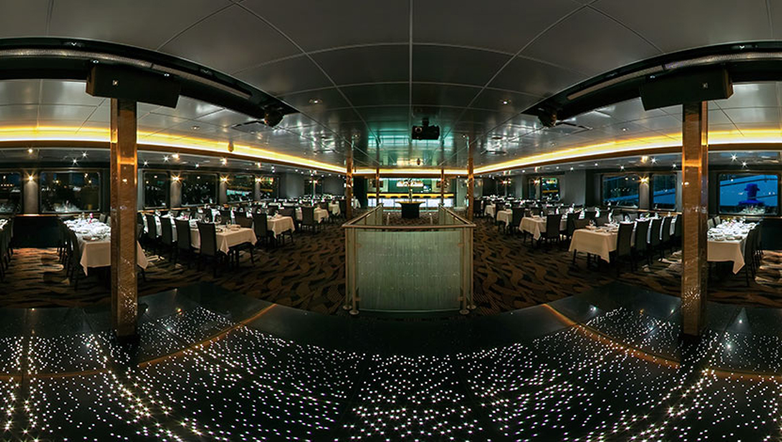 Odyssey Cruise Ship Dance Floor Sensitile