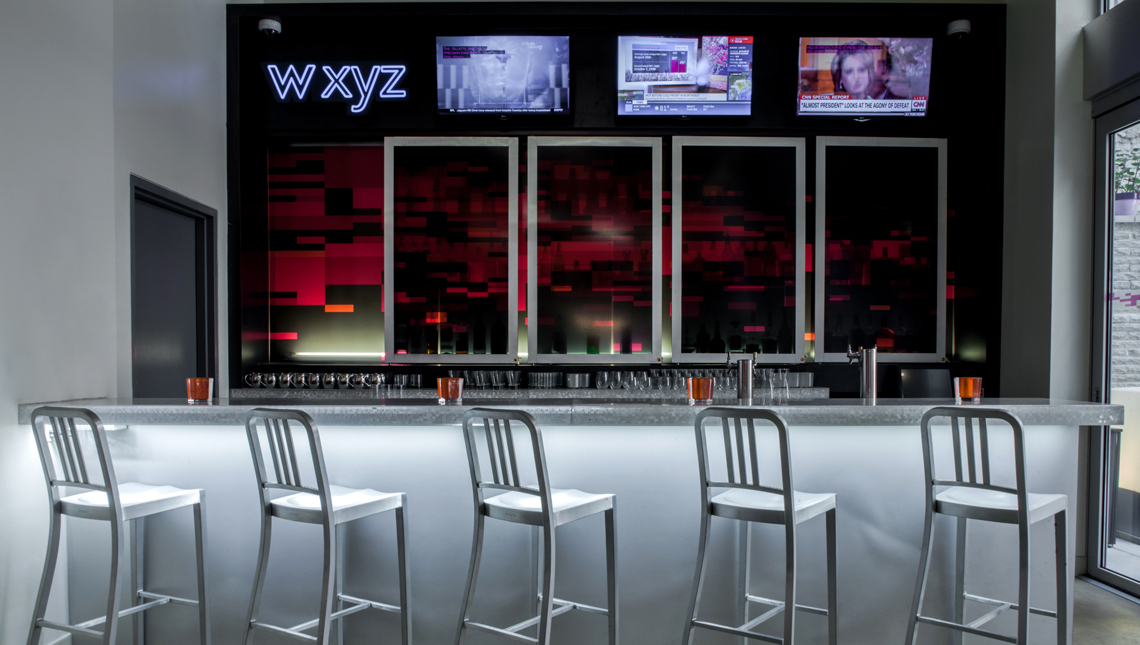 Aloft Hotels, w xyz bar Gen 2 1