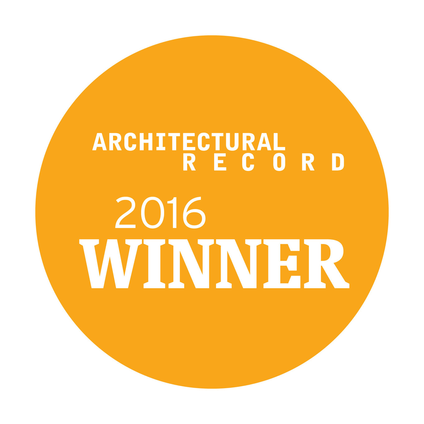 Sensitile Wins TWO Architectural Record Product Awards from Architectural Records 2016