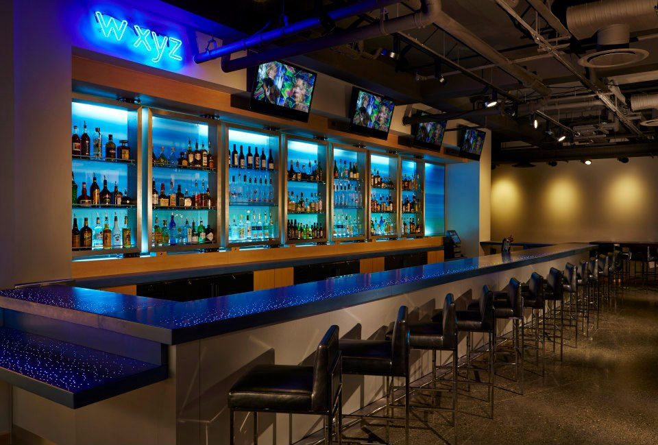 Aloft Hotels, w xyz bar Gen 1 1