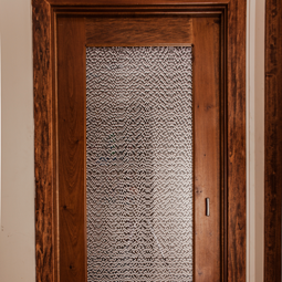 Jali Mezzaluna: Door Panel
