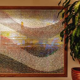Jali Cascata: Zari & Mirror Artwork