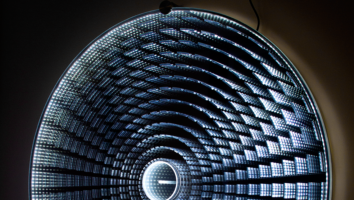 Infinity : Radial Disc Light Fixture 2