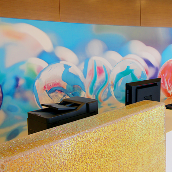 Children's Hospital of Philadelphia Reception Desks