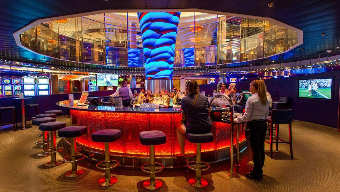 Carnival Cruise Vista Casino Bar 4