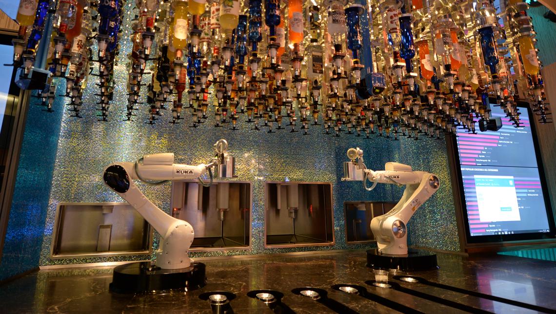 Tipsy Robot Bar- Las Vegas 1