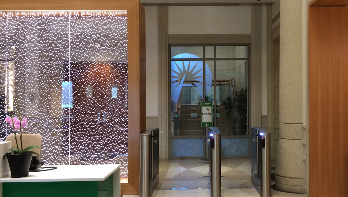 Fidelity Investment Reception Desk 2