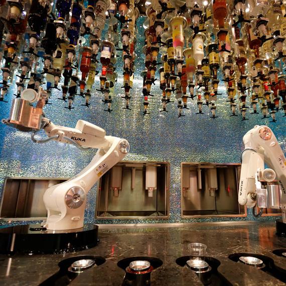 Tipsy Robot Bar- Las Vegas