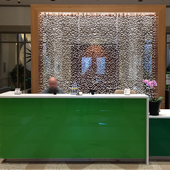 Fidelity Investment Reception Desk