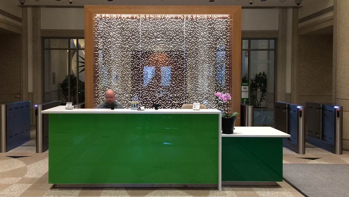 Fidelity Investment Reception Desk 0