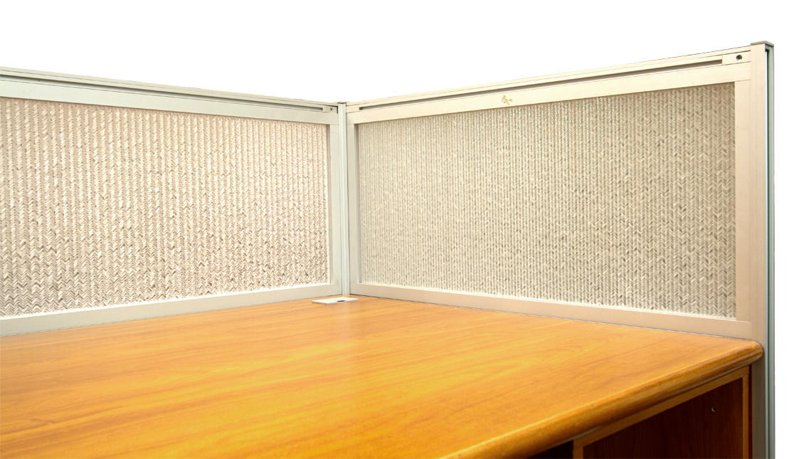 Jali Maize Office Desk Modesty Panels 0