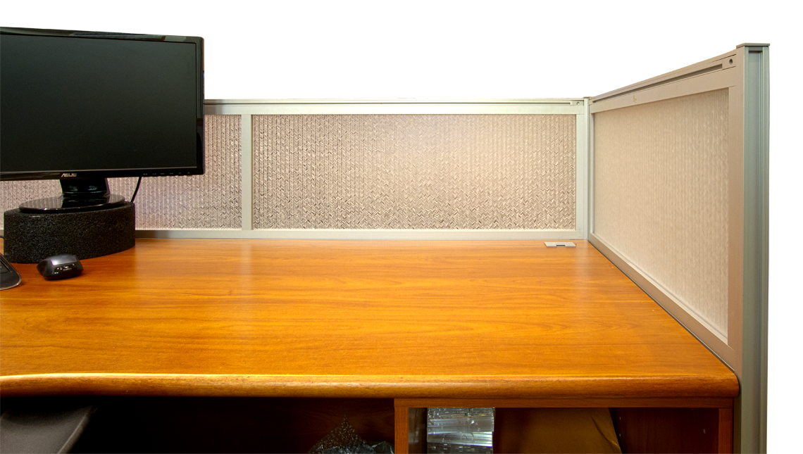 Jali Maize Office Desk Modesty Panels 1