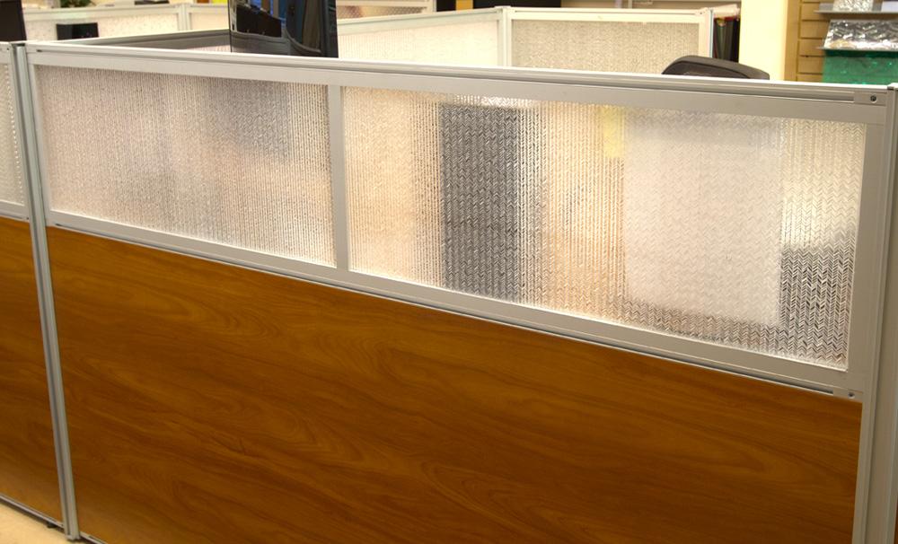 Jali Maize Office Desk Modesty Panels 0