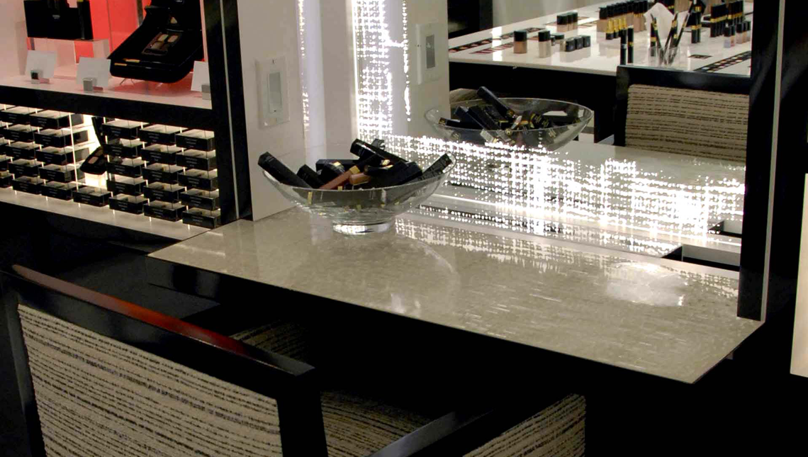 Chanel at Saks Fifth Avenue Scintilla Table 0