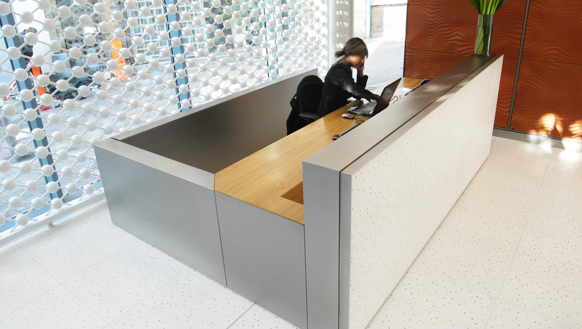 Office Building Reception Desk, London 0