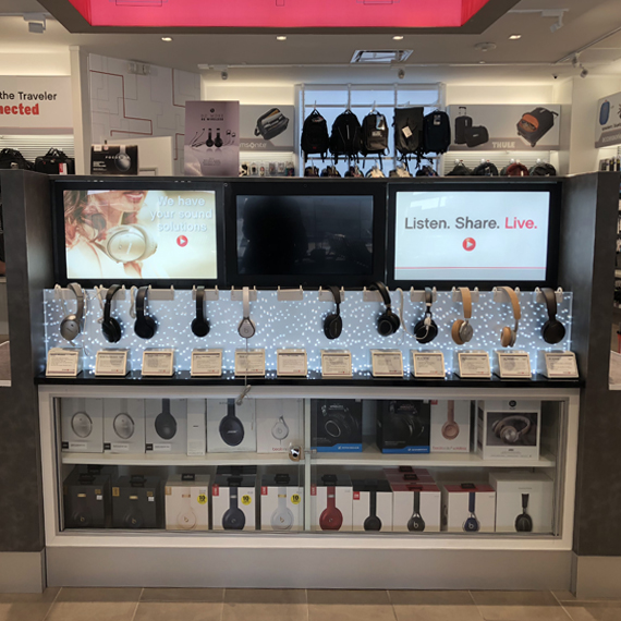 INMOTION Store Display