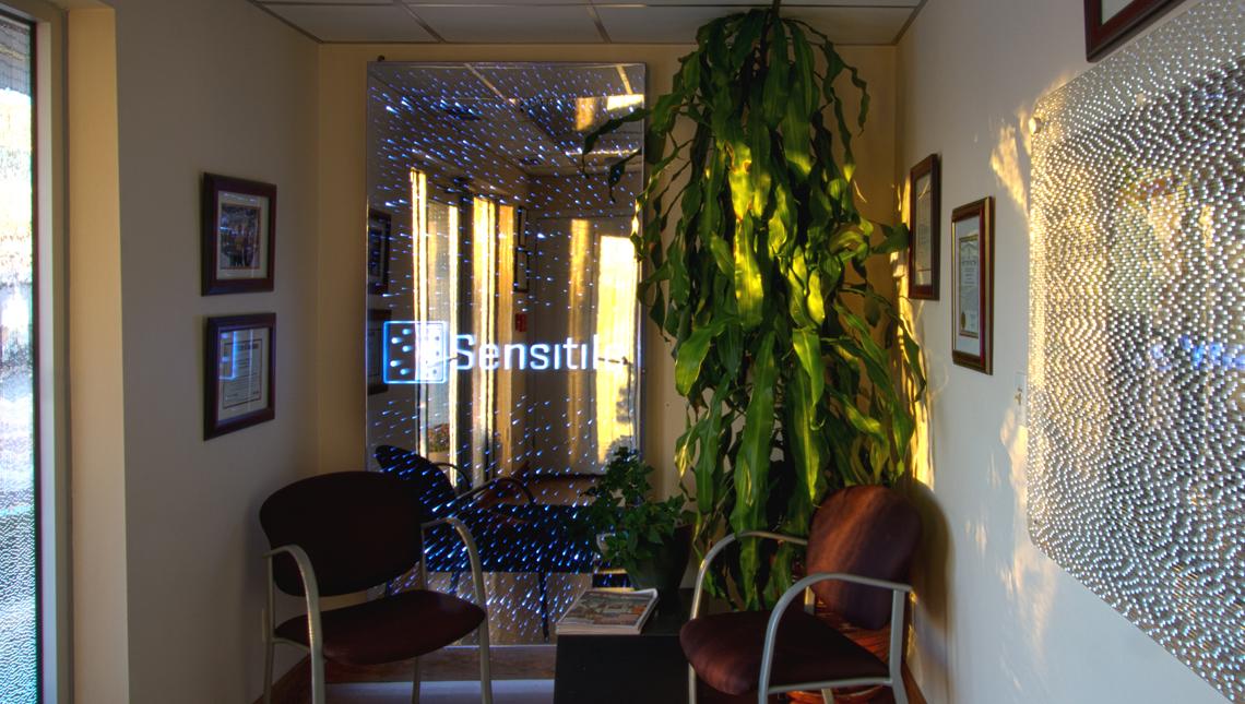 Office Vestibule Celeste Wall 0