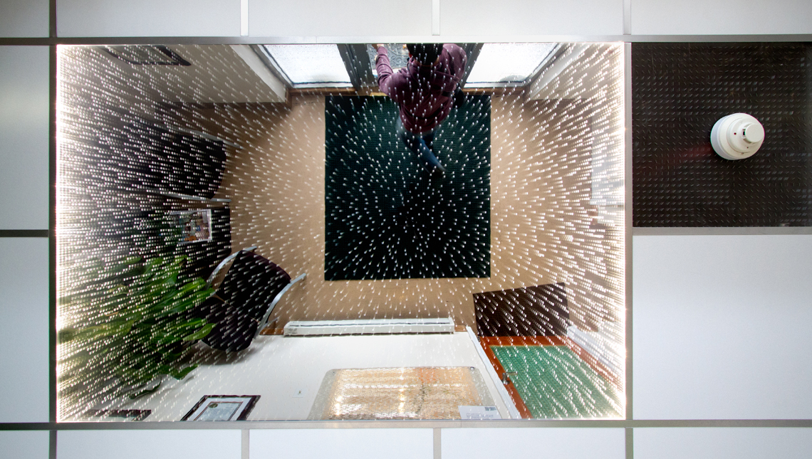 Office Vestibule Infinity Ceiling 1