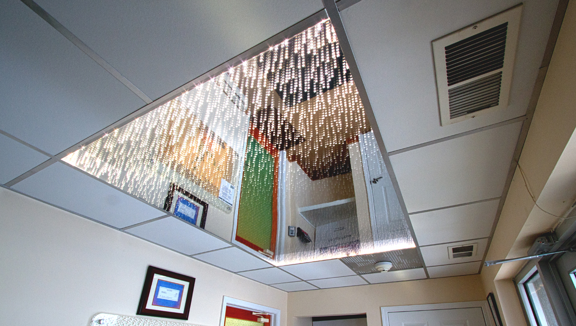 Office Vestibule Infinity Ceiling 5