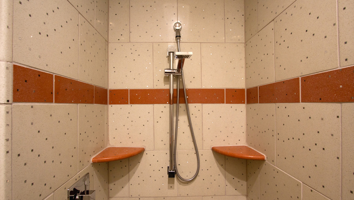 Private Residence: Sensitile Terrazzo Shower 0
