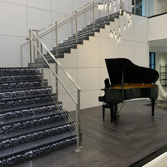 Pandora Terrazzo Lumina Stairs