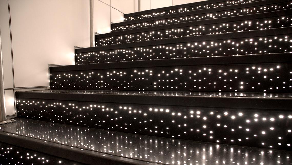 Pandora Illuminated Stair Risers and Treads 2