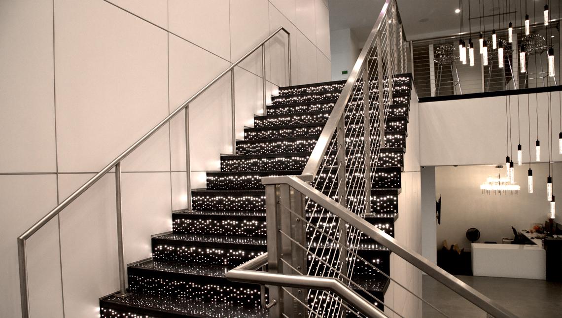 Pandora Illuminated Stair Risers and Treads 3