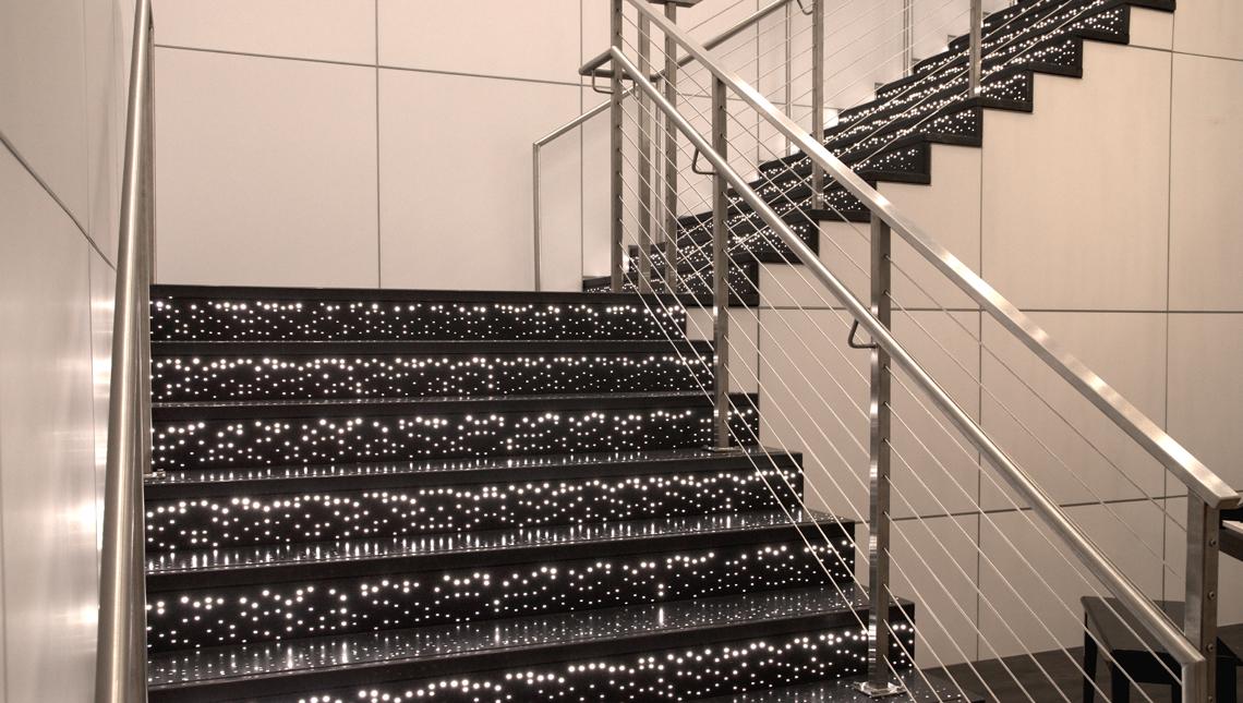 Pandora Illuminated Stair Risers and Treads 6