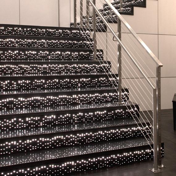Pandora Illuminated Stair Risers and Treads