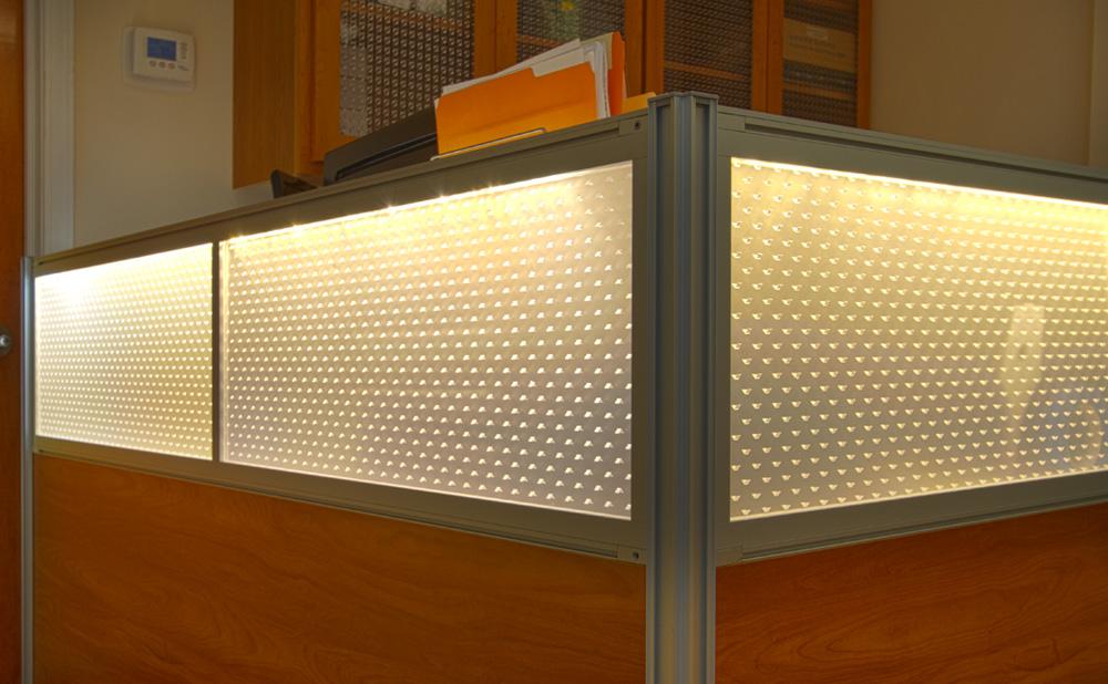 Spark Double Core Office Desk Modesty Panels