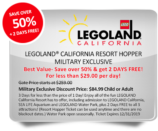 Attention Service Members  Claim your Exclusive LEGOLAND® California Resort Military  Discount. eef88abb8