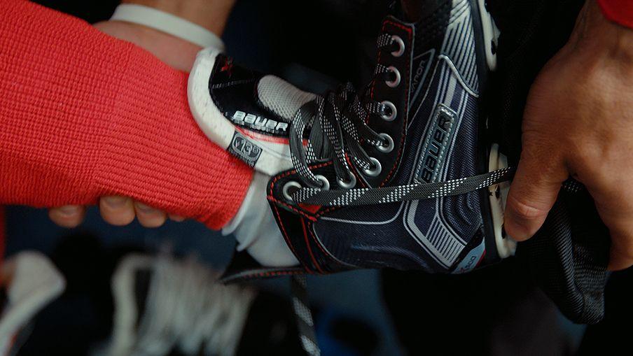 6de0de61eb1 How to determine your hockey skate size at home