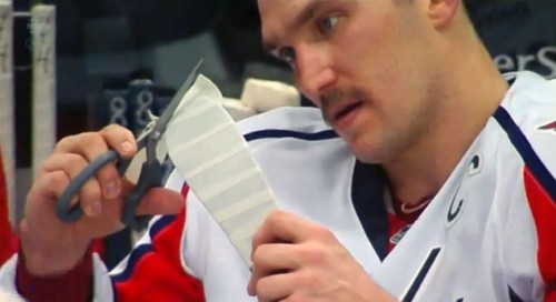 How To Tape A Hockey Stick