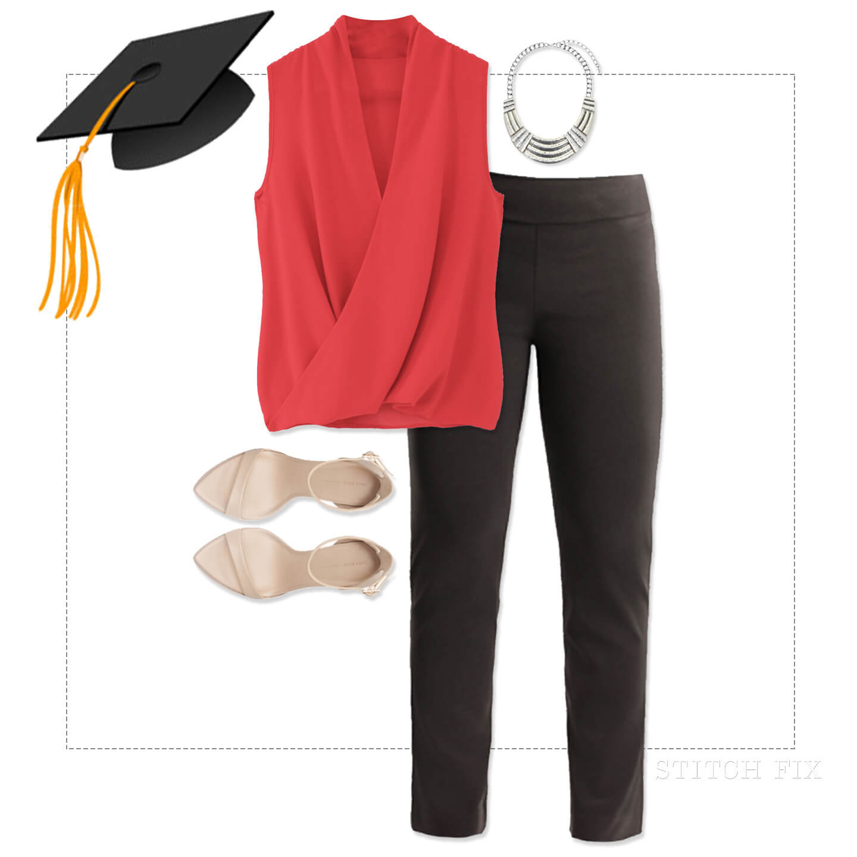 Graduation Blouse And Skirt 14
