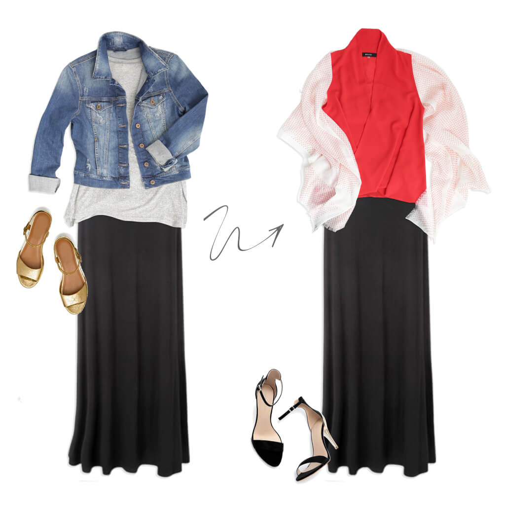 How can I style a maxi skirt for work? | Stitch Fix Style