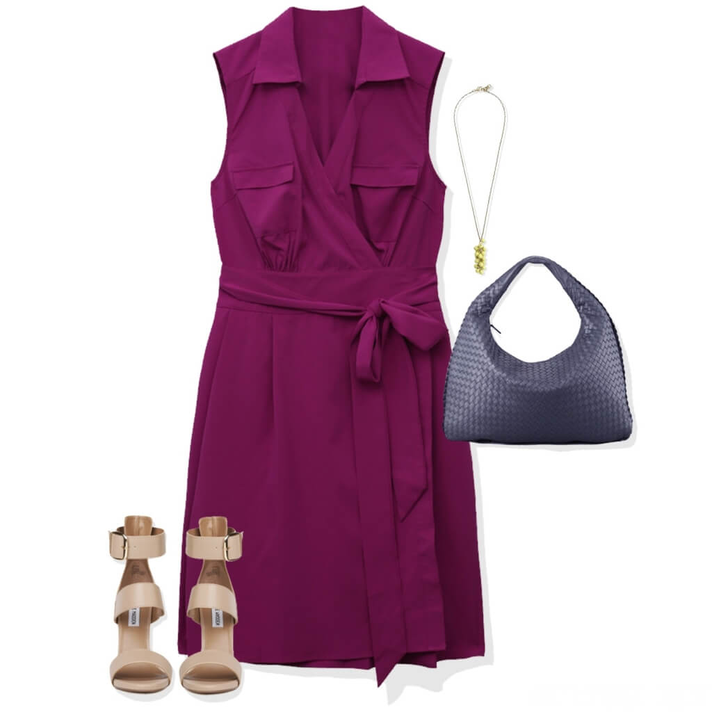 Dress style for thick middle